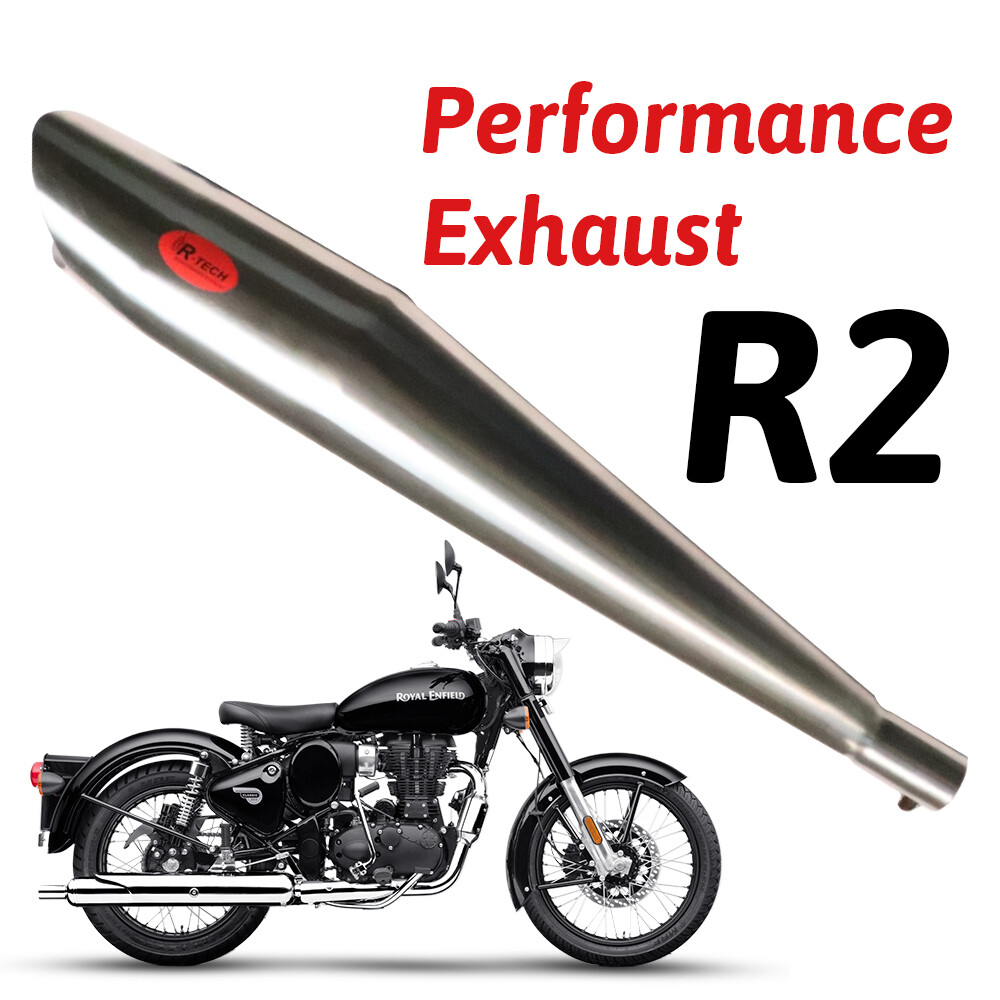 R2 Performance Exhaust Ceramic Wool Exhaust for Royal Enfield