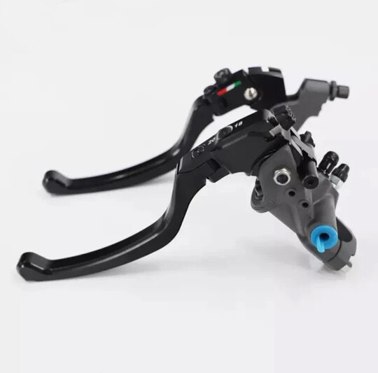 MotoGP hydraulic clutch and brake lever set