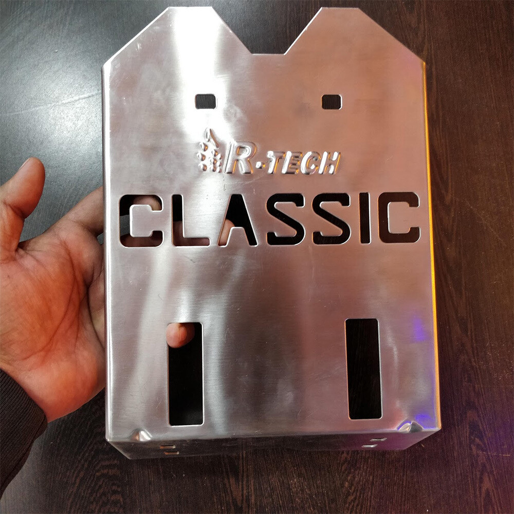 Royal Enfield Classic Engine Guard stainless steel