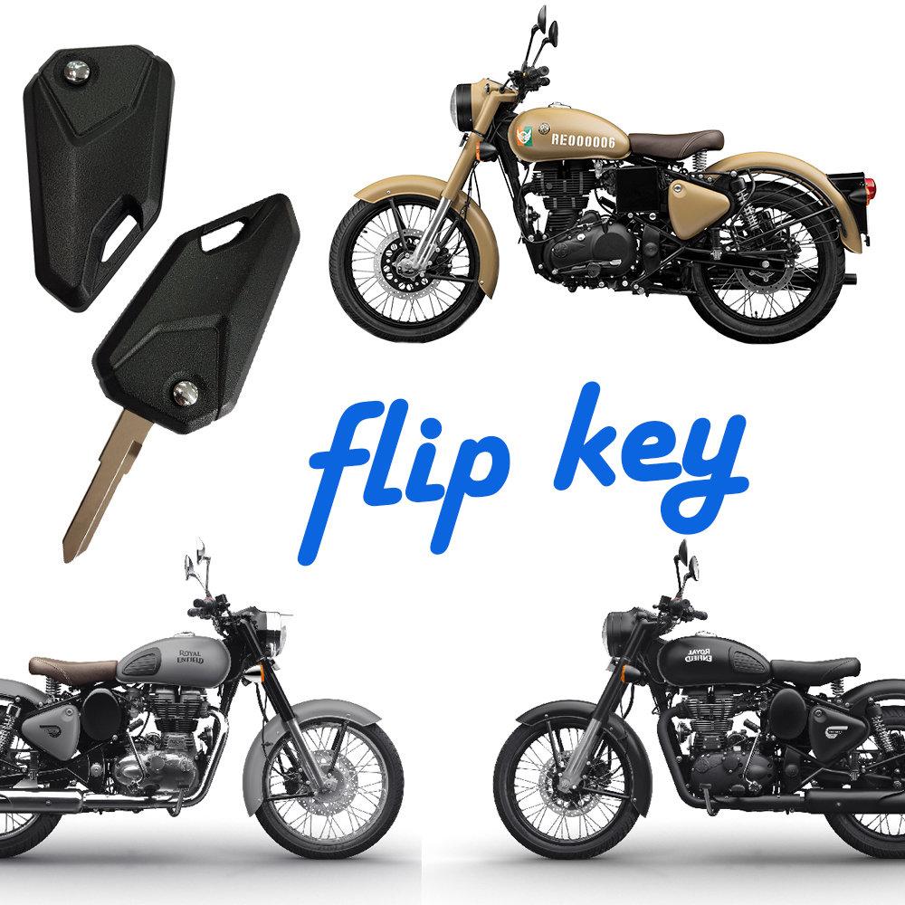 Flip Key for Royal Enfield 350/500