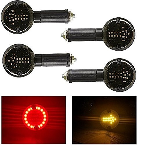 2 in 1 Arrow style indicators for Royal Enfield - Set of 4