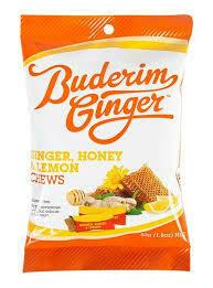 Ginger & honey chews