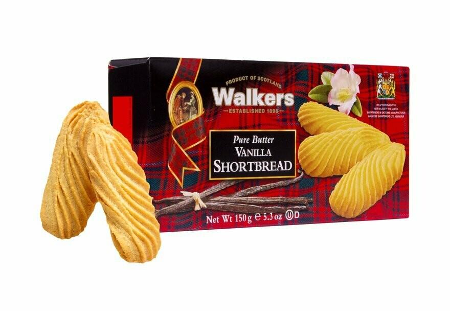 Walkers vanilla shortbread 150 gr