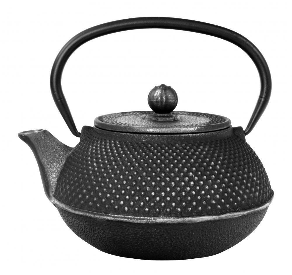 ARARE Tea Pot 0.8 l Black & Silver