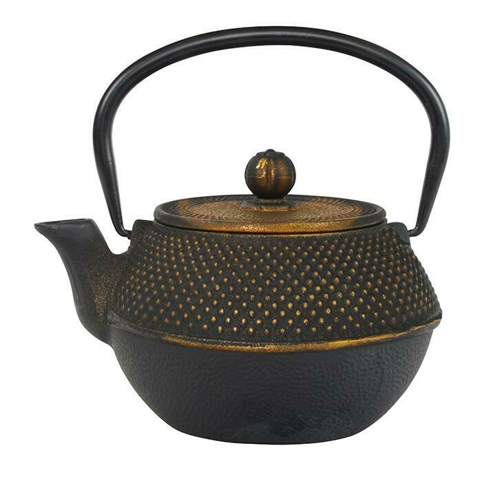 ARARE Tea Pot 1.1 l Black & Copper