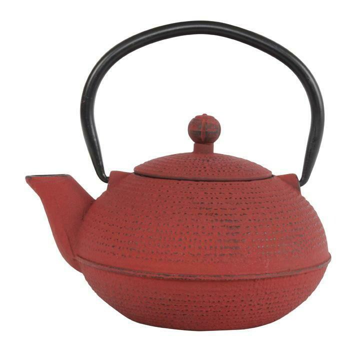 GANZOU Tea Pot 0.5 l Japanese Red