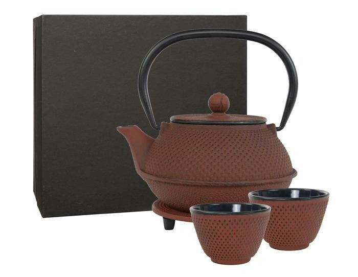 ARARE Tea Set 0.8 l Red