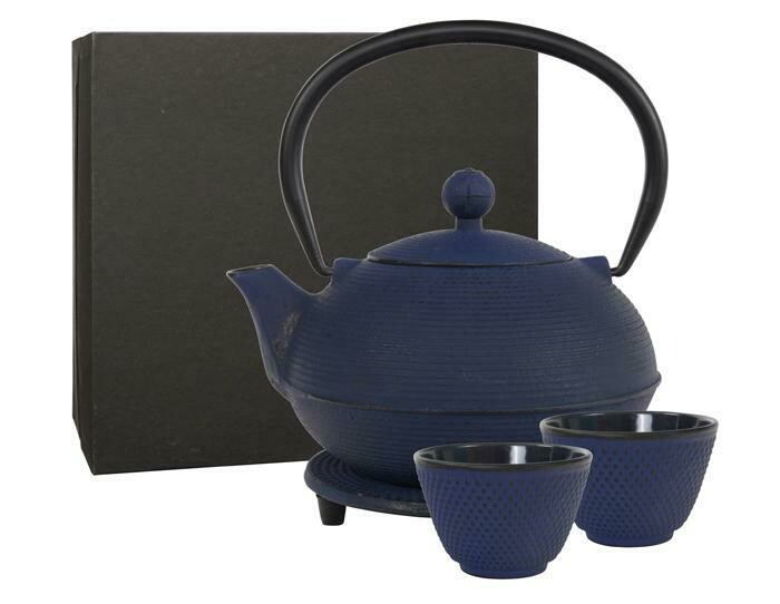 GANZOU Tea Set 0.9 l Blue