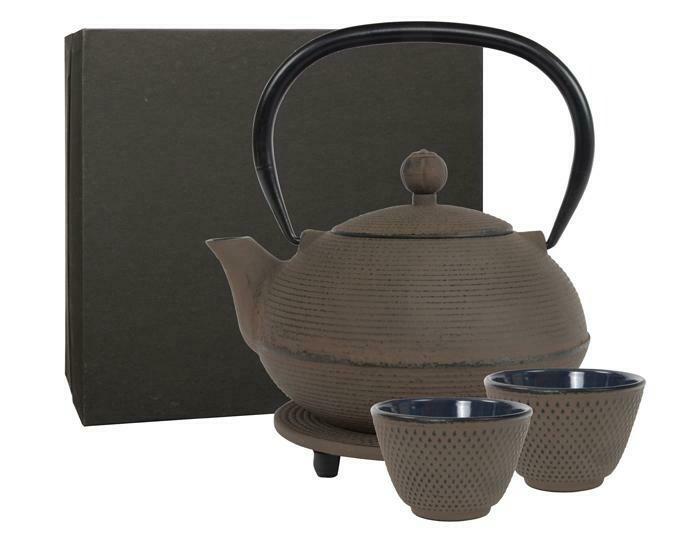GANZOU Tea Set 0.9 l Taupe