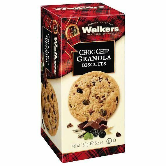 Walkers Choc chip Granola Biscuits 150 gr