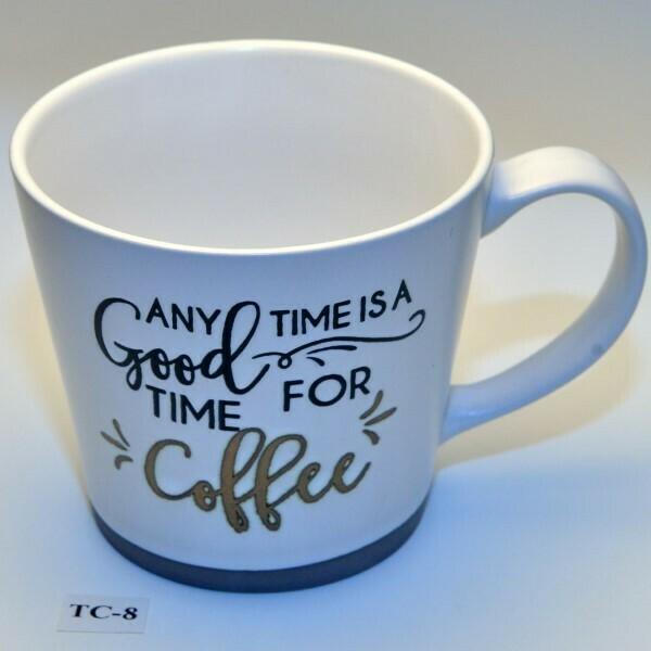 Echte ruime koffie genieters-mok    TC-8