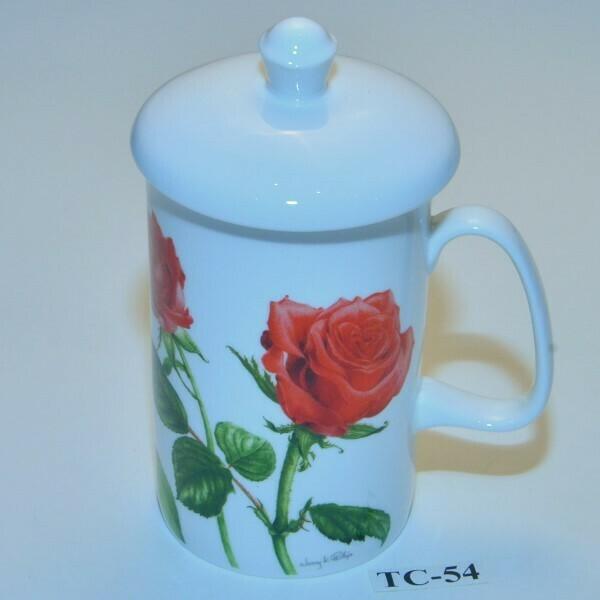 Romantische thee/ kruidentas met filter  TC-54