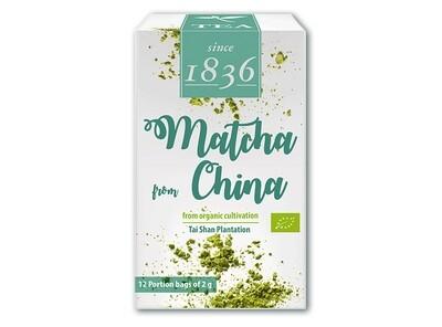Matcha from China 12 X 2 gram