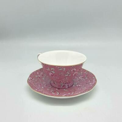 Engelse theetas Bloemetjes 3 kleuren