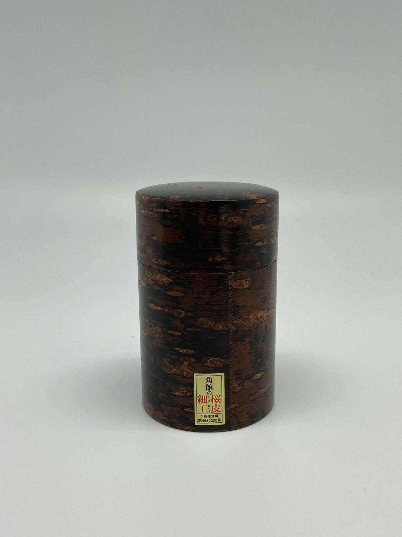 Japans theedoosje van kerselaar hout