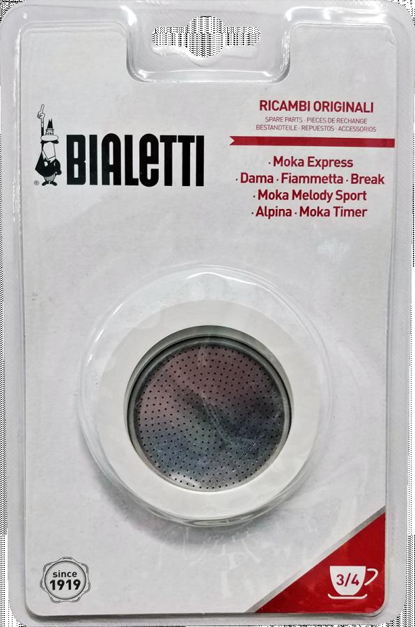 Bialetti Moka Express 3 ringen en filter