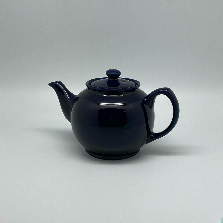 Donker Blauwe Engelse theepot 1 l