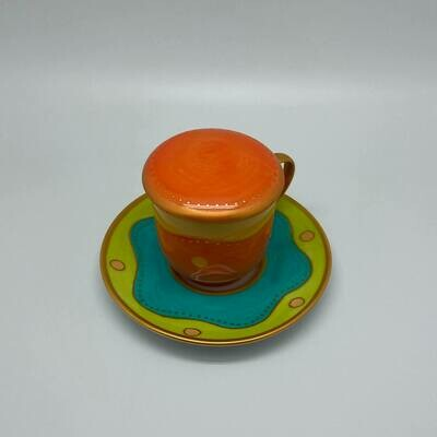 Grote thee / kruidentas oranje