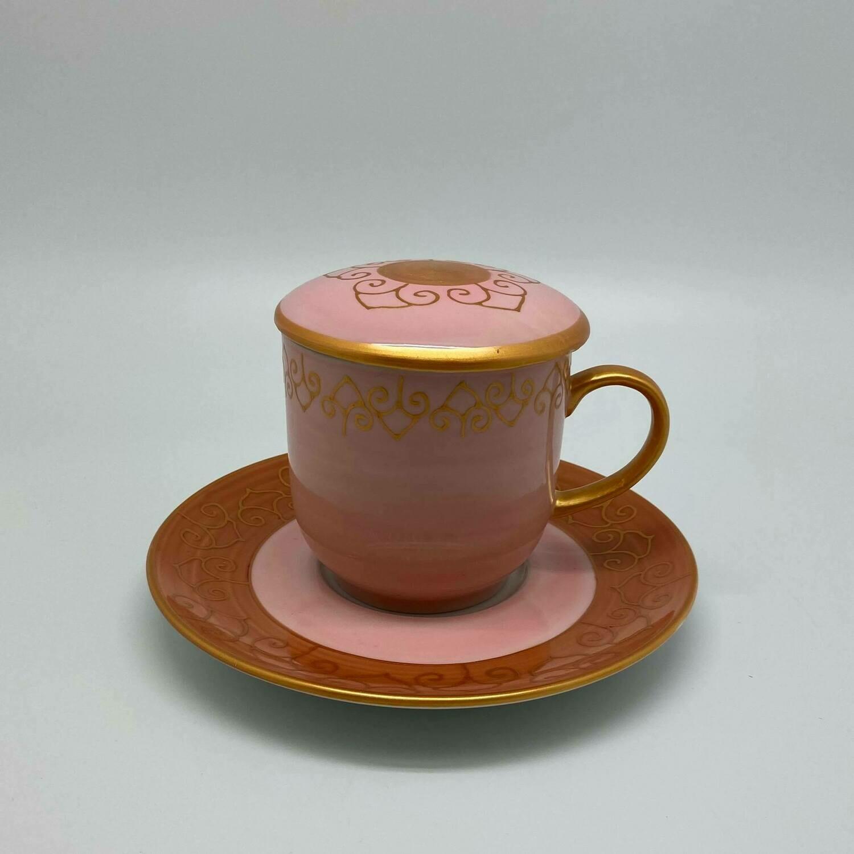 Grote thee / kruidentas roze