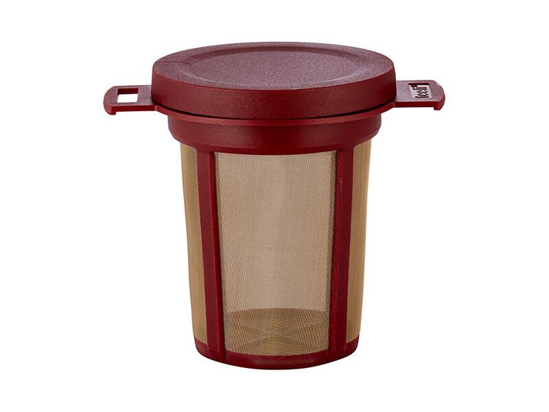 Duurzame filter met deksel 6 cm