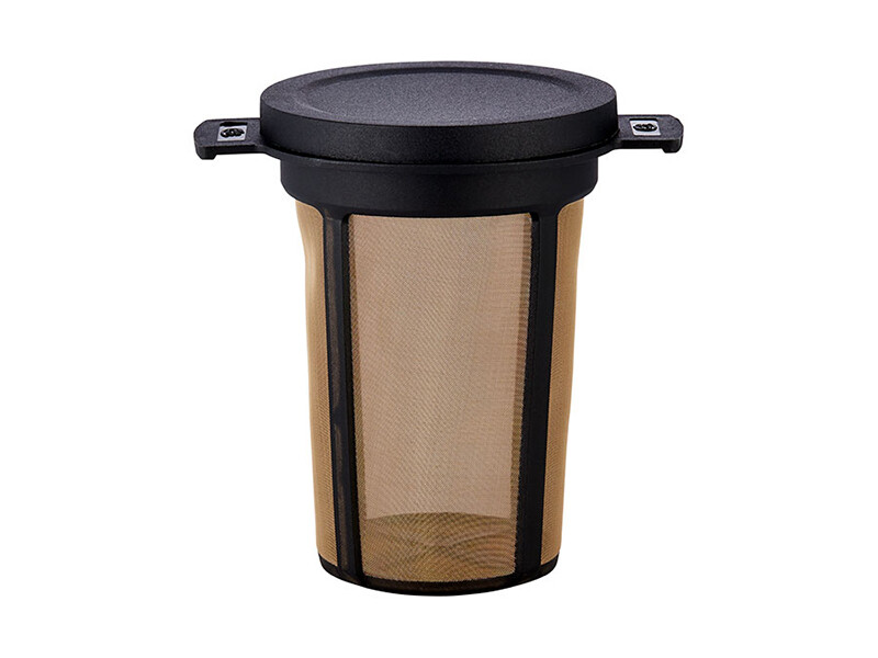 Duurzame filter met deksel 7 cm