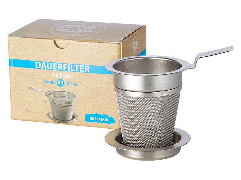 Thee Filter met deksel (5 maten)