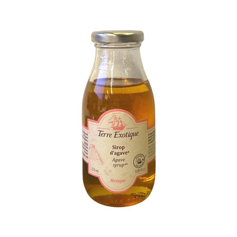 Terre Exotique Agave Syrup 250 ml