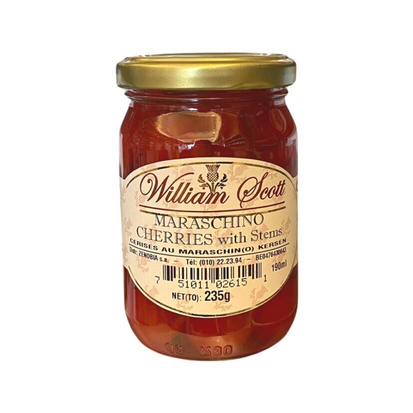 William Scott Maraschino cherries 235 gr