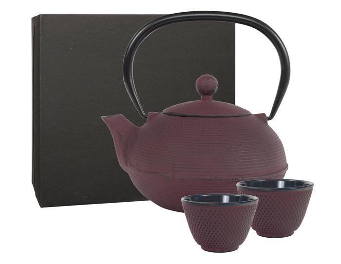 GANZOU Tea Set 0.9 l Fuchsia