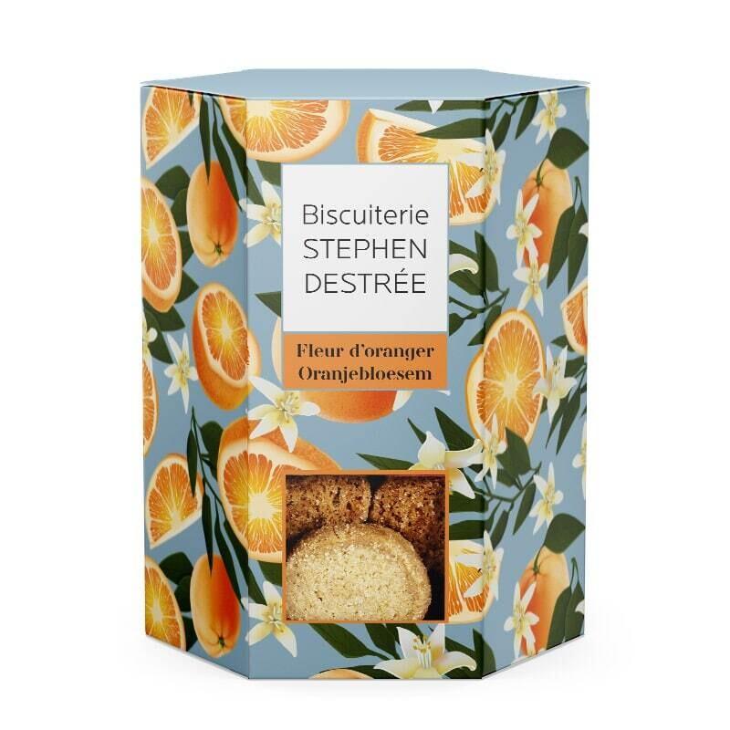 STEPHEN DESTRÉE Oranjebloesem koekjes 100 gr