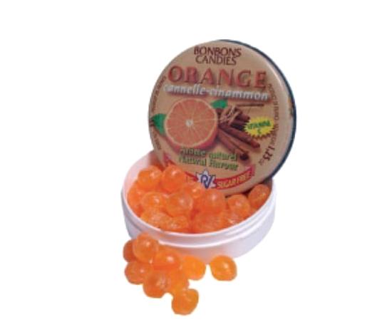 Appelsien & Kaneel suikervrije snoepjes