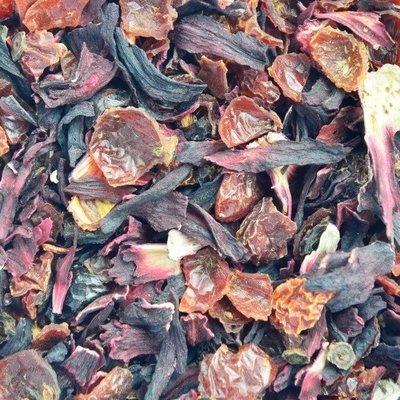 Rozenbottel & Hibiscus infusie