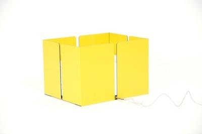 Altpapiersammler - Gelb