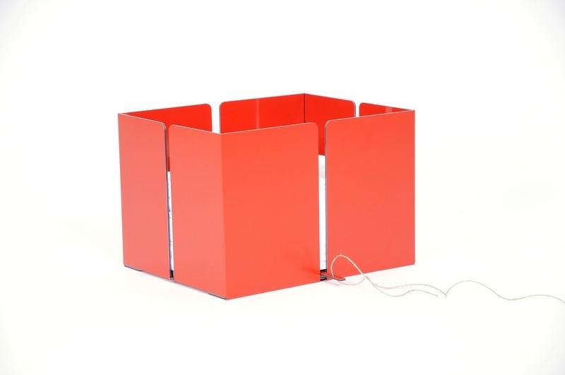 Altpapiersammler - Rot