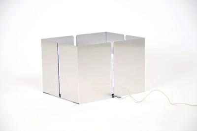 Altpapiersammler - Aluminium gebürstet