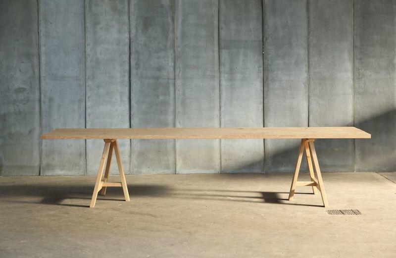 Trestle Tisch - massgefertigt
