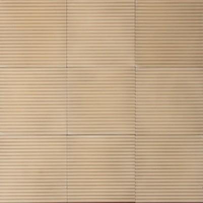 Zementfliese - Lines Reed - Sand