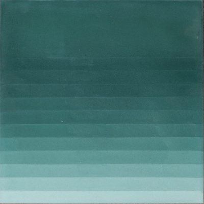Zementfliese - Four Elements Stripes - Green