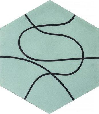 Zementfliese - Paths - Eucalyptus/Charcoal