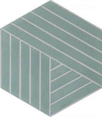 Zementfliese - Fold - Lauren/Canvas