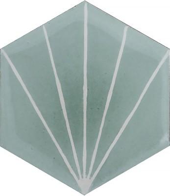 Zementfliese - Dandelion - Celadon/Milk