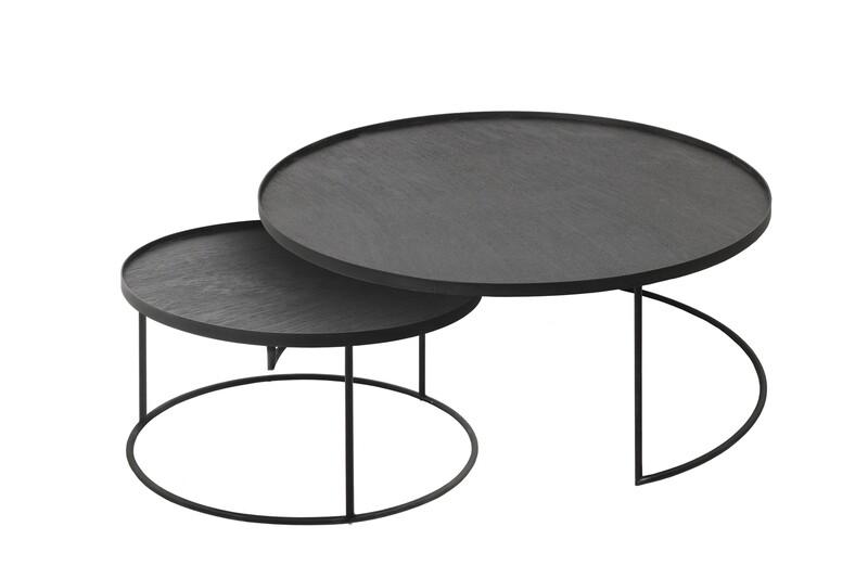 Coffeetable Set - rund L/XL, Höhe 31cm und 38cm