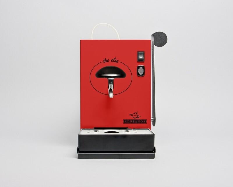 The Else Kaffeepadmaschine Rot