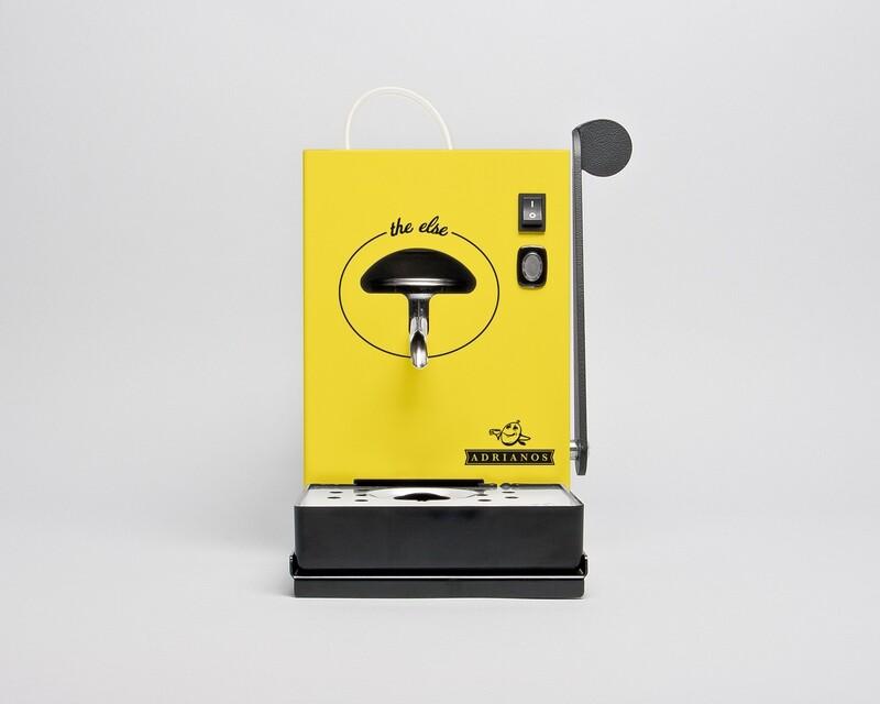 The Else Kaffeepadmaschine Gelb