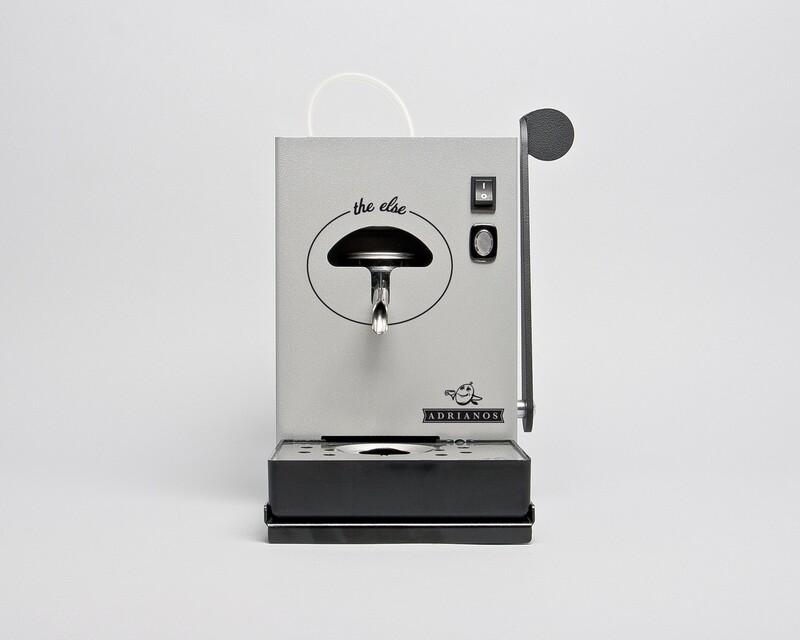 The Else Kaffeepadmaschine Grau