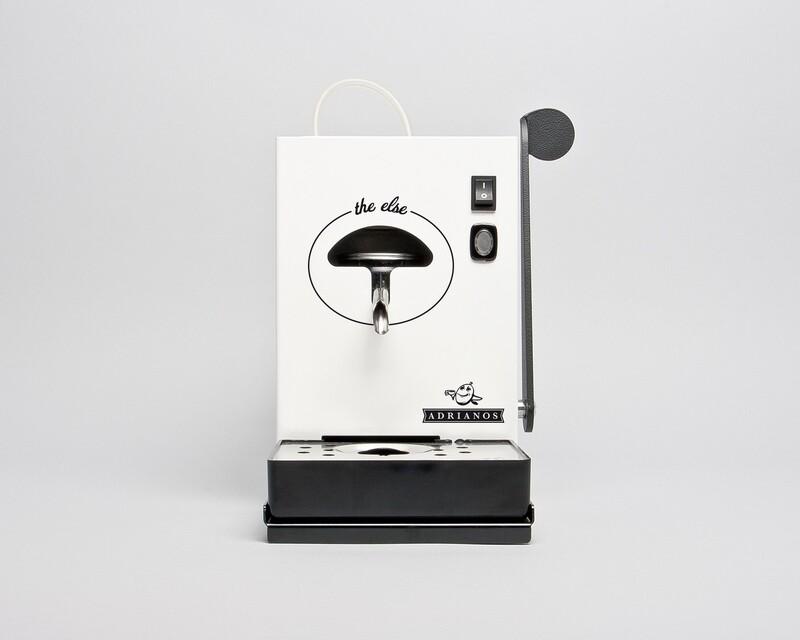 The Else Kaffeepadmaschine Weiss