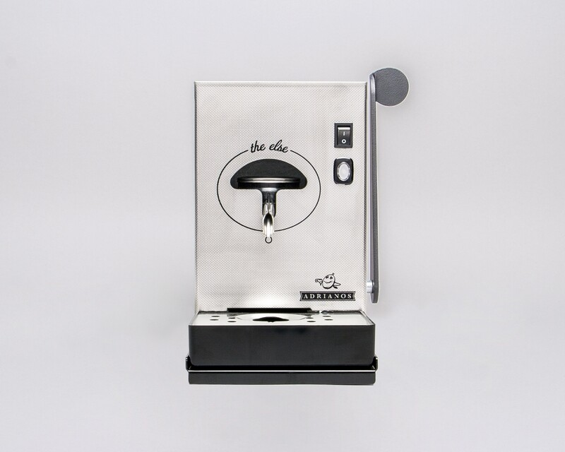 The Else Kaffeepadmaschine Chrom