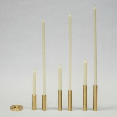 OX Kerzenständer Messing einzeln