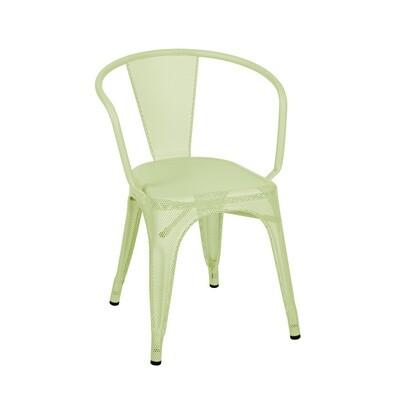 Tolix - Stuhl A56 - farbig perforiert