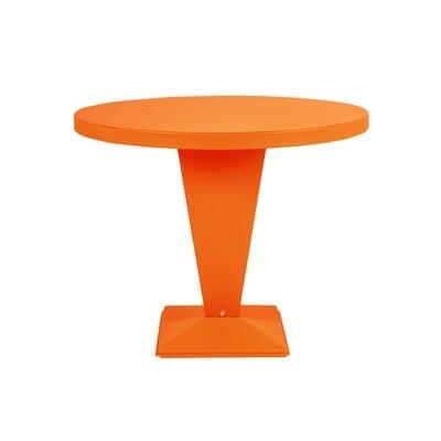 Tolix - Kub Tisch - rund farbig